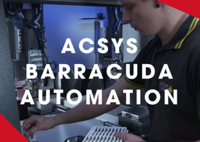 ACSYS – BARRACUDA – Full automation with OPR and two robotic grippers