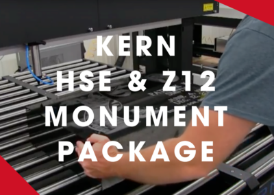 KERN – Z12 Monument Package