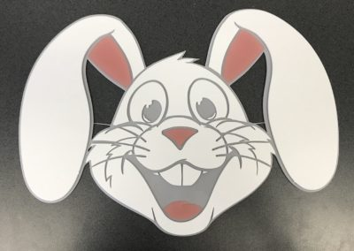 LASER CUTTING EASTER BUNNY PROJECT