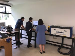 School Students Learn New Laser Skills
