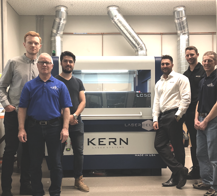 University of Melbourne Students Have Access To Industry Related Processes With New Kern LaserCell