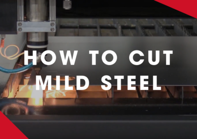 KERN – How To Laser Cut Mild Steel