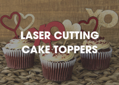 LASER CUT CAKE TOPPERS