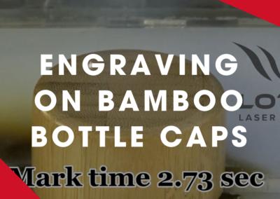 LOTUS – ENGRAVING BAMBOO BOTTLE CAPS