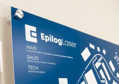 Laser Engrave Building Signage