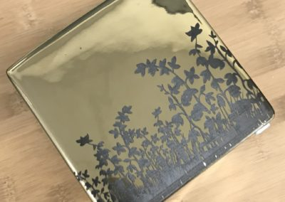Ceramic Flower Cube