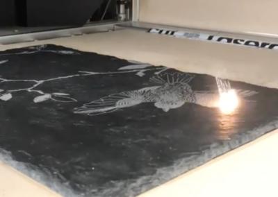 Laser Engraving Slate
