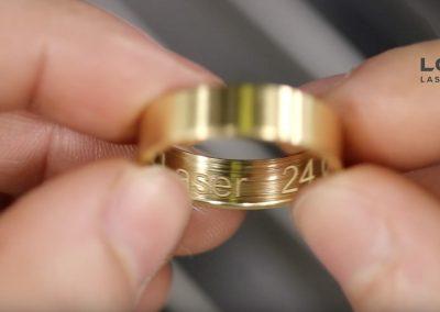 Laser Engraving Inside of Rings