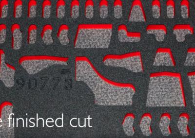 Laser Cutting Foam