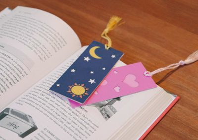 Laser Cutting Bookmarks